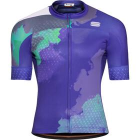 Sportful Bodyfit Team 2.0 Dolomia Koszulka kolarska, krótki rękaw Mężczyźni niebieski